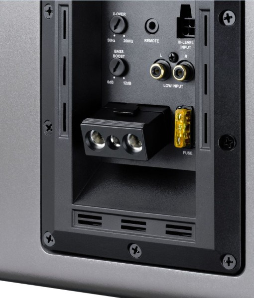 how to connect active subwoofer to integrated amplifier